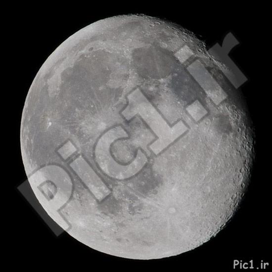 عکس ماه - خروجی مستقیم از دوربین