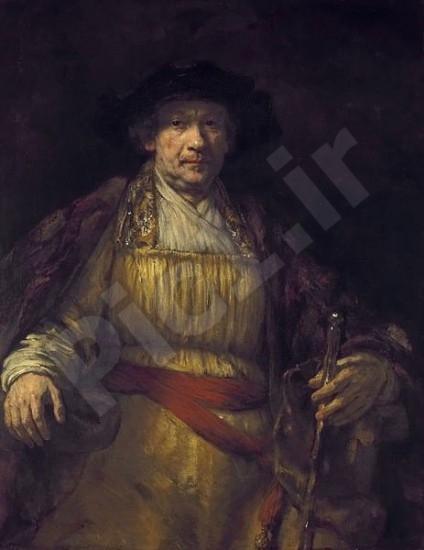 نقاشی رامبراند - سلف پرتره