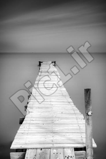 اسکله چوبی