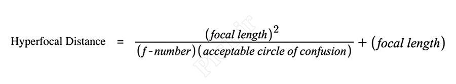 فرمول محاسبه هایپرفوکال