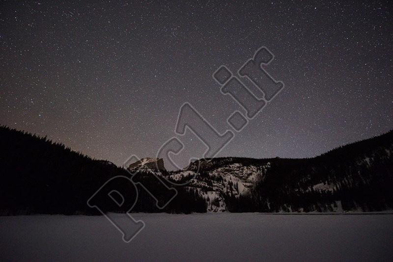 عکس ستارگان با لنز نیکون