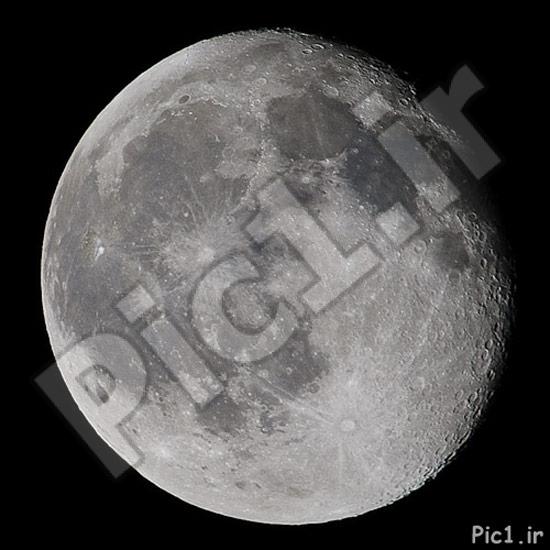 عکس از ماه پس از ویرایش در فتوشاپ